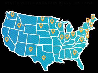 MandatoryRecyclingLaws_USSates