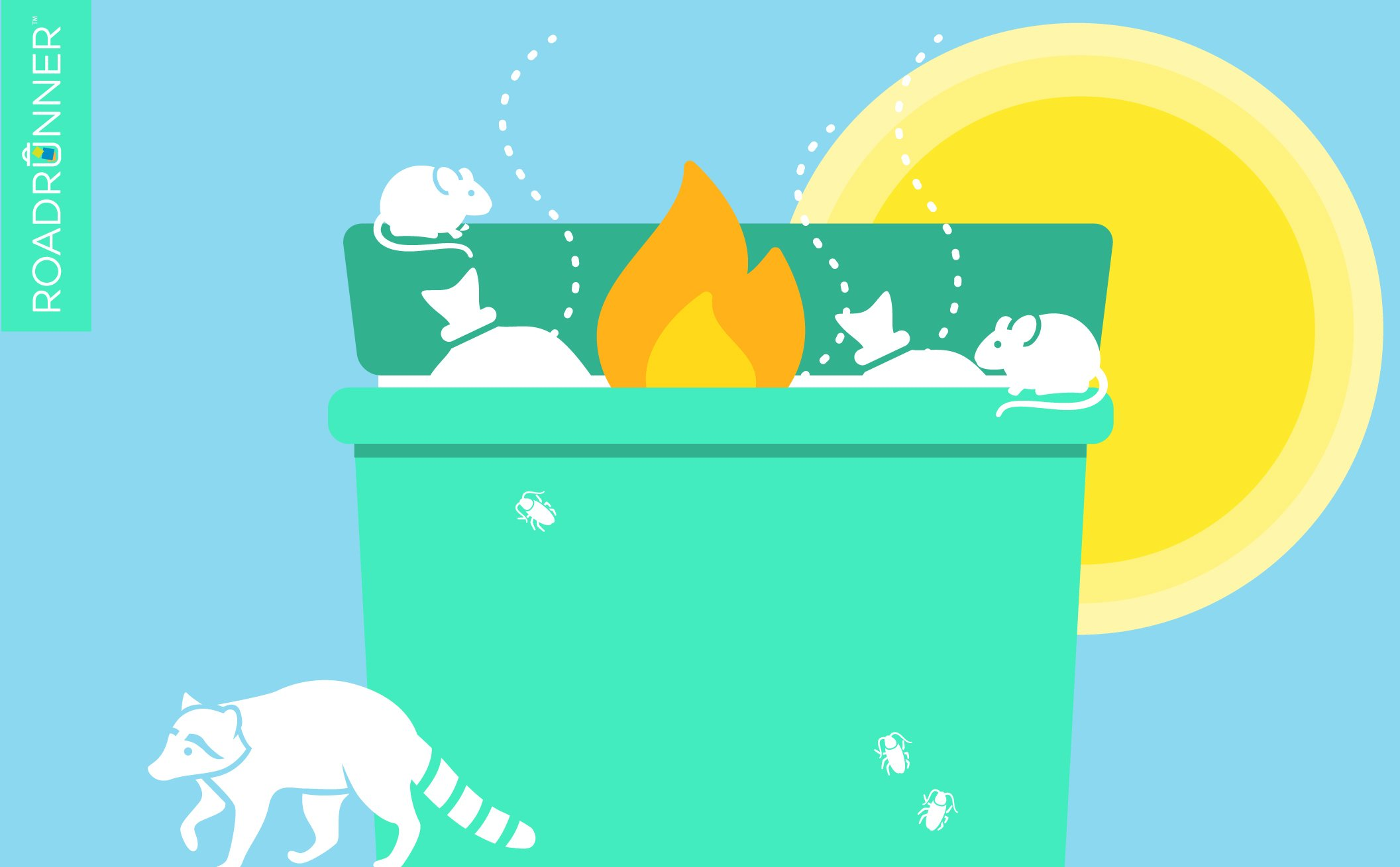 Why Does Hot Weather Make Waste Management More Difficult?